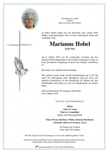 Marianne Hobel