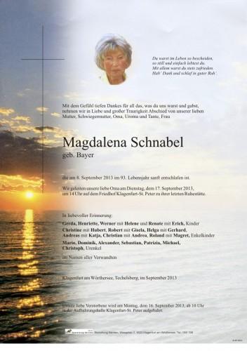 Magdalena Schnabel