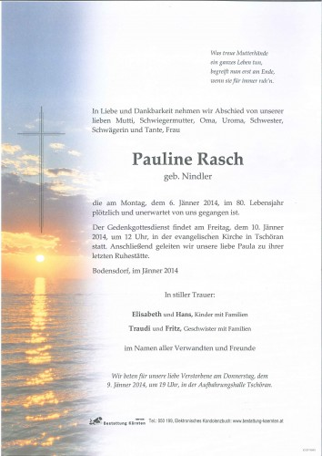 Pauline Rasch