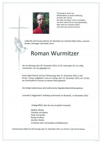 Roman Wurmitzer