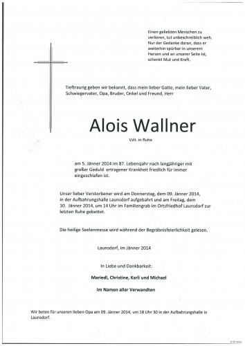 Alois Wallner
