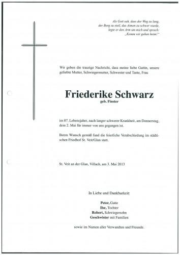 Friederike Schwarz