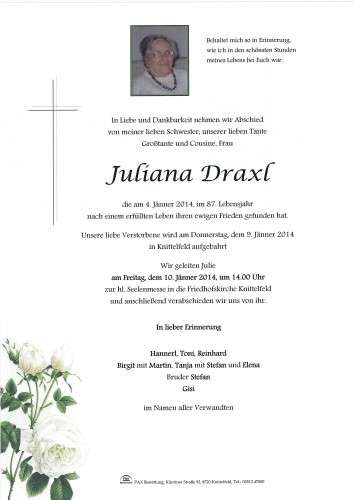 Juliana Draxl