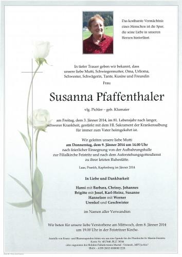 Susanna Pfaffenthaler