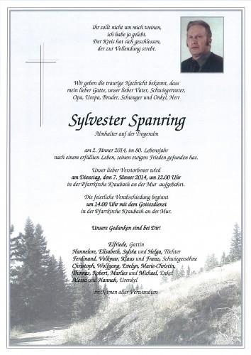 Sylvester Spanring