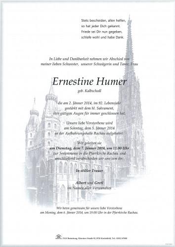 Ernestine Humer