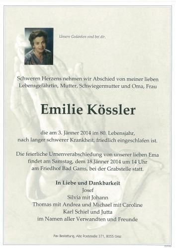 Emilie Kössler