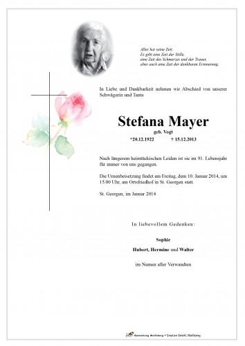Mayer Stefana