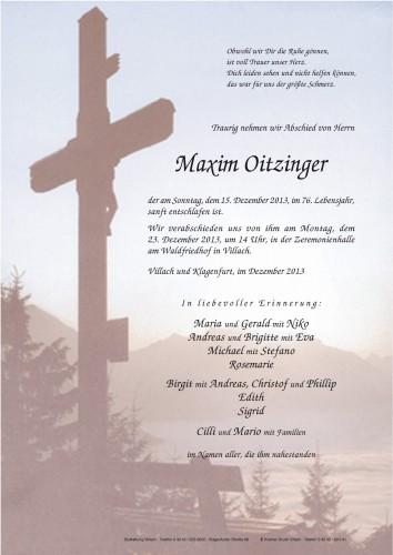 Maxim Oitzinger