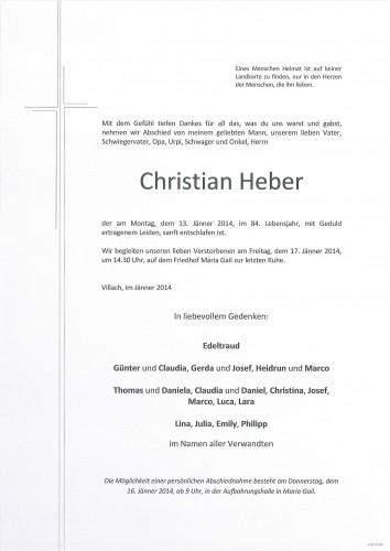 Christian Heber