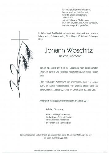 Johann Woschitz