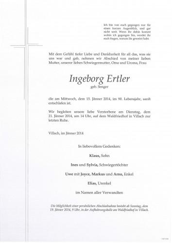 Ingeborg Ertler