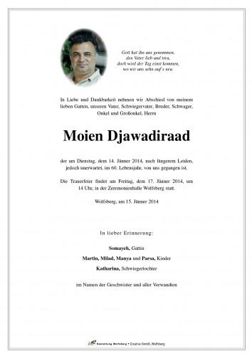 Djawadiraad Moien