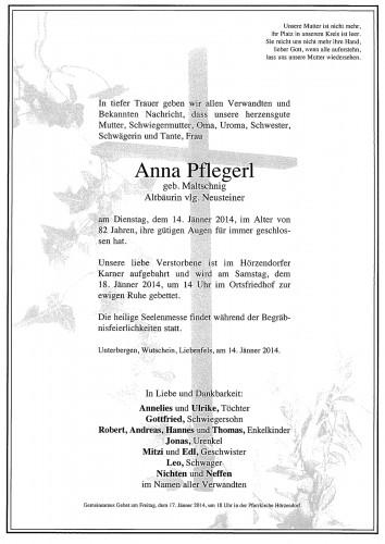 Anna Pflegerl