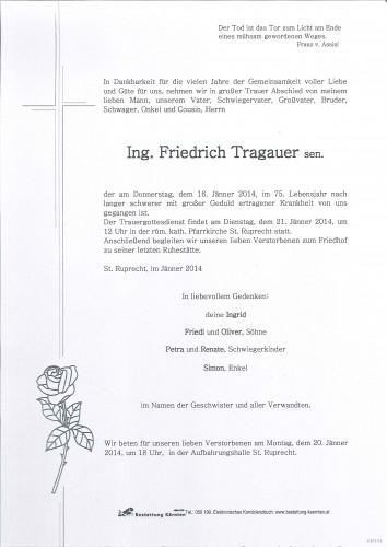 Friedrich Tragauer sen.