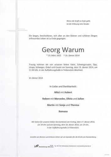 Georg Warum