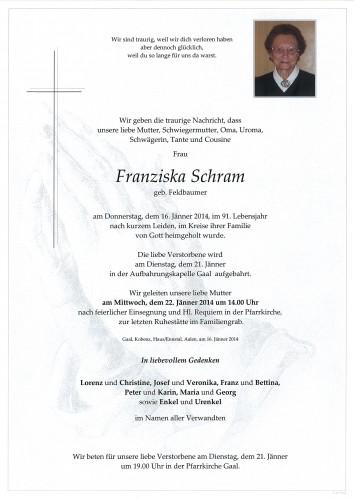 Franziska Schram