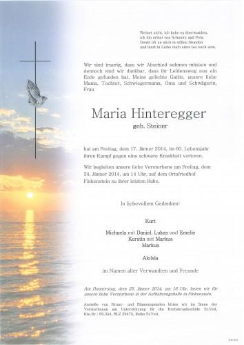 Maria Hinteregger