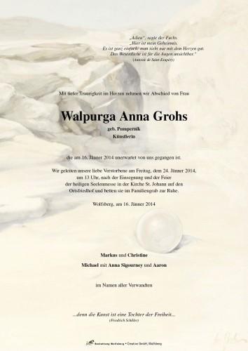 Walpurga Anna Grohs