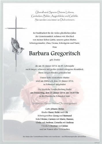 Barbara Gregoritsch