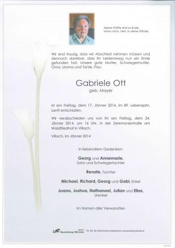 Gabriele Ott