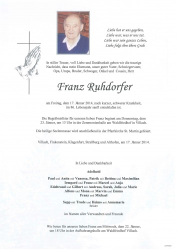 Franz Ruhdorfer