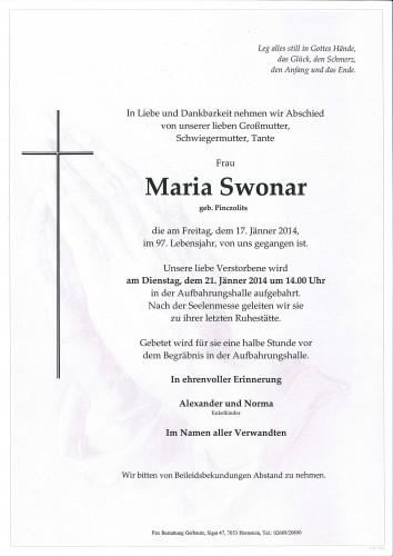 Maria Swonar