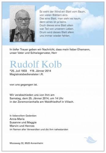 Rudolf Kolb