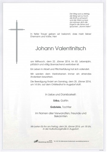 Johann Valentinitsch
