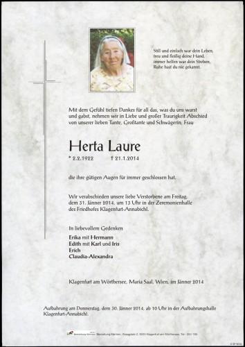 Herta Laure
