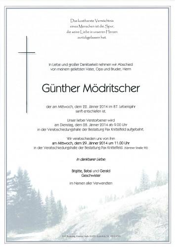 Günther Mödritscher