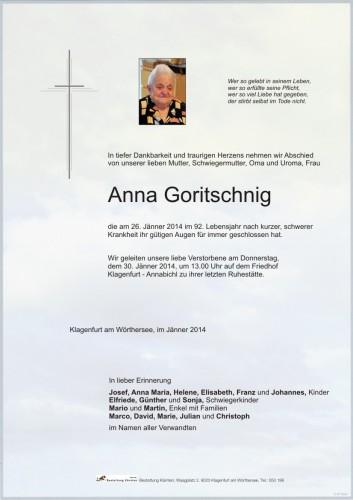 Anna Goritschnig