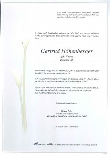Gertrud Höhenberger