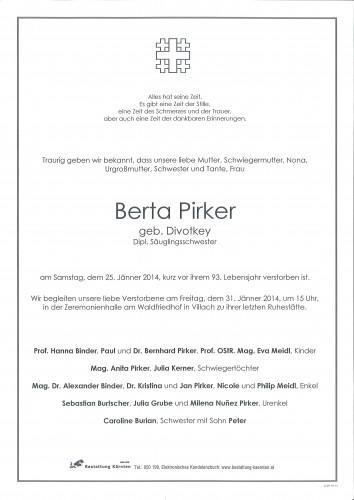 Berta Pirker