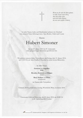 Hubert Simoner