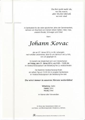 Johann Kovac