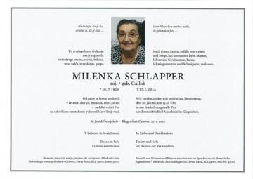 Milena Schlapper