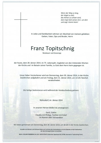 Franz Topitschnig