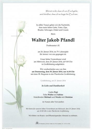 Walter Jakob Pfandl