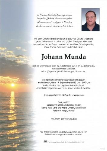 Johann Munda