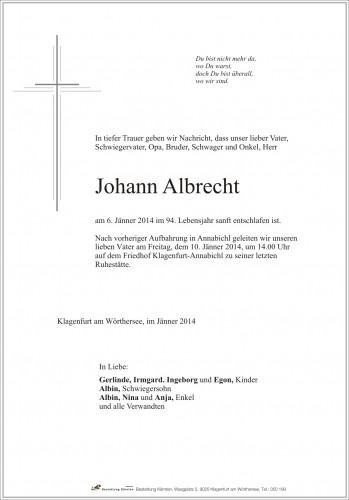 Johann Albrecht