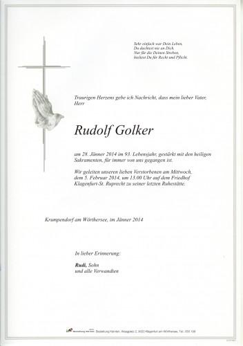 Rudolf Golker