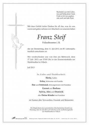 Franz Steif