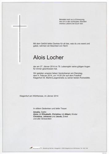 Alois Locher