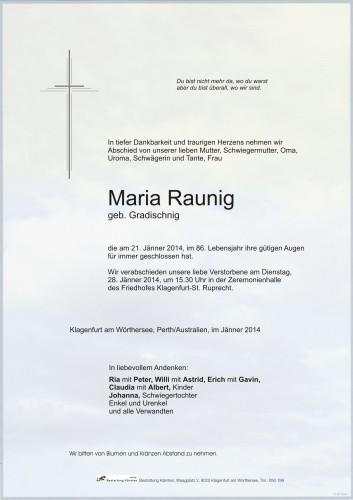 Maria Raunig