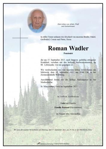 Roman Wadler
