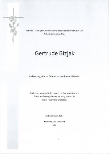 Gertrude Bizjak