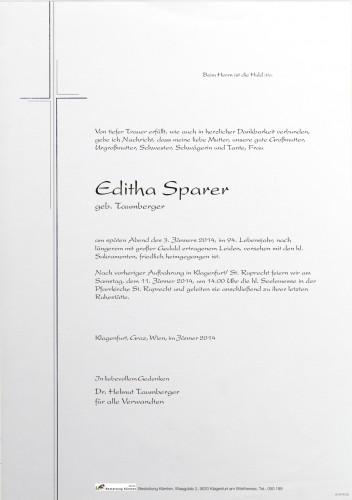 Editha Sparer