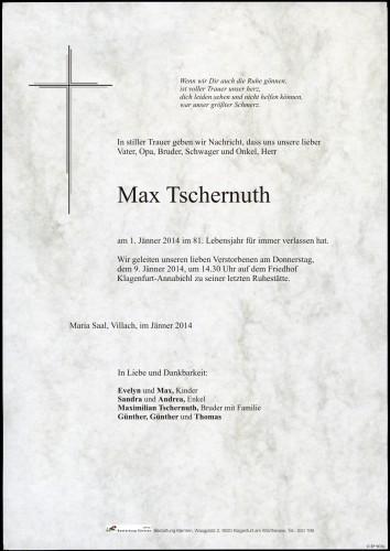 Max Tschernuth