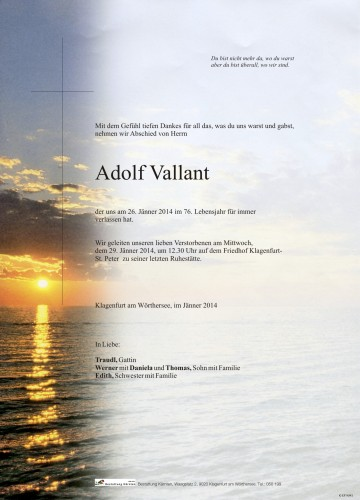 Adolf Vallant
